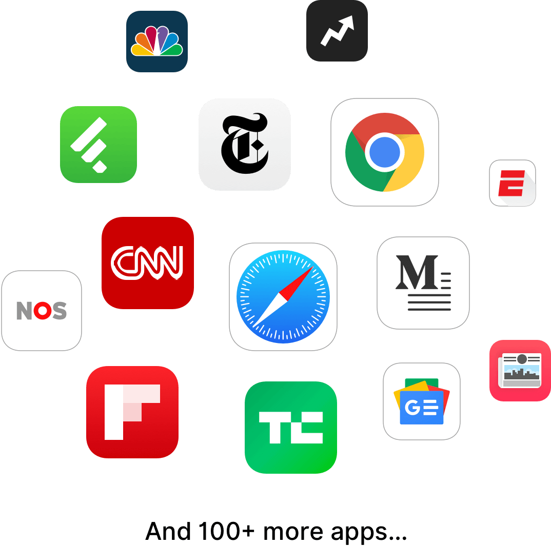 Playlist supported Apps
